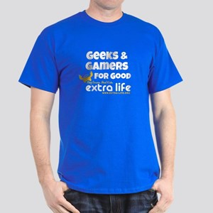 Geeks Gamers Team shirt Dark T-Shirt